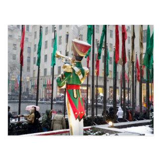 Rockefeller Center Christmas Postcard