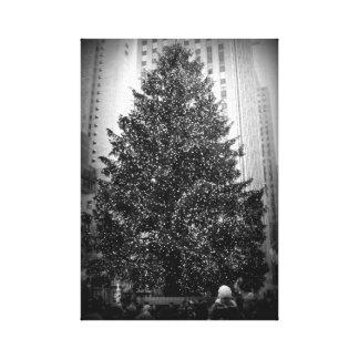 Rockefeller Center Christmas Tree Canvas Print