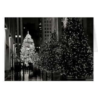 Rockefeller Center Christmas Tree Card