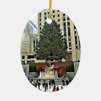 Rockefeller Center Christmas Tree Ornament