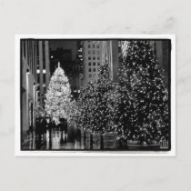 Rockefeller Center Christmas Tree Postcard
