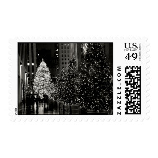 Rockefeller Center Christmas Tree Stamps