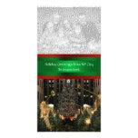 Rockefeller Center Christmas Tree, Your Photo Photo Card