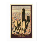 Rockefeller Center New York Post Card