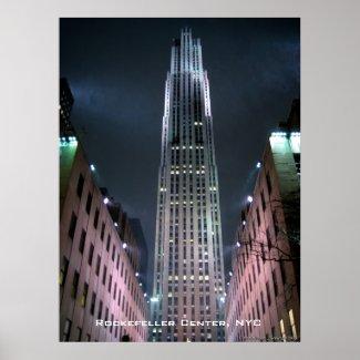 Rockefeller Center print