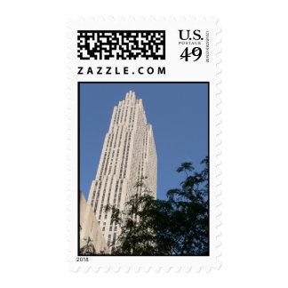 Rockefeller Center Stamp