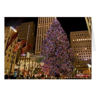 Rockefeller Center Tree Card