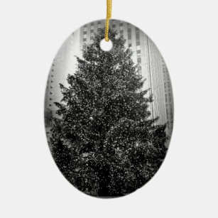 Rockefeller Center Christmas Ornaments | Zazzle