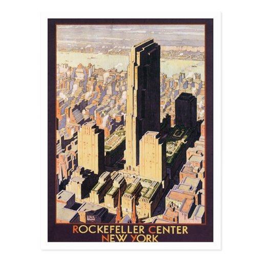 Rockefeller Nueva York de centro Postal