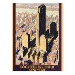 Rockefeller Nueva York de centro Postales