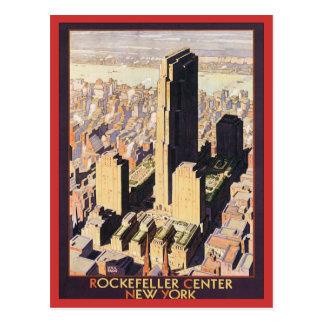 Rockefeller Nueva York de centro Tarjeta Postal