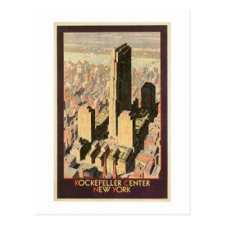 Rockefeller Nueva York de centro Tarjetas Postales
