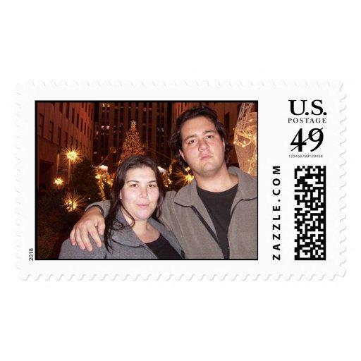 Rockefeller Plaza Stamp