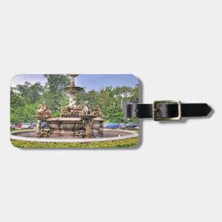 Rockefeller's Italian Fountain Luggage Tag