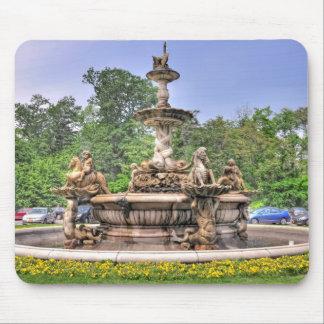 Rockefeller's Italian Fountain Mousepads