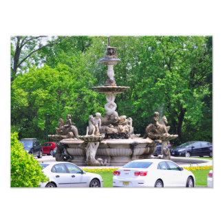 Rockefeller's Italian Fountain Photo Print