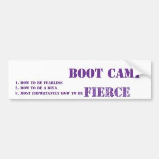 Rockems Fierce Boot Camp Bumper Sticker
