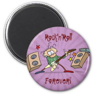 Rocker 2 Inch Round Magnet