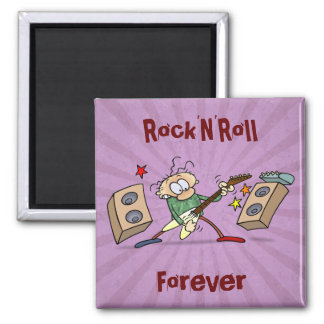 Rocker 2 Inch Square Magnet