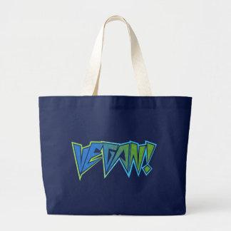 Rocker Blue Vegan Tote Bag