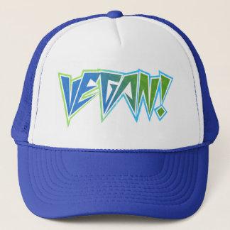 Rocker Blue Vegan Trucker Hat