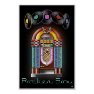 Rocker Box Jukebox Poster