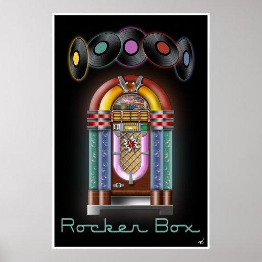 Rocker Box Jukebox Poster
