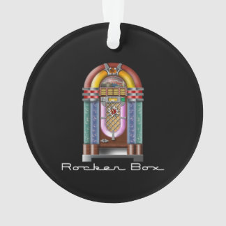 Rocker Box JukeBox Retro Rock Ornament