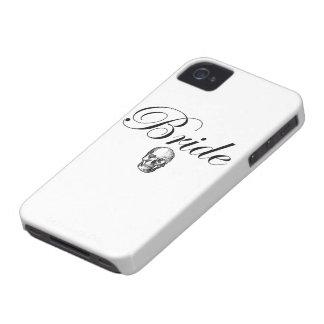 Rocker Bride Goth Skull Case-Mate iPhone 4 Case