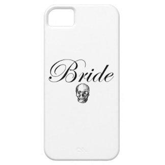 Rocker Bride Goth Skull iPhone SE/5/5s Case