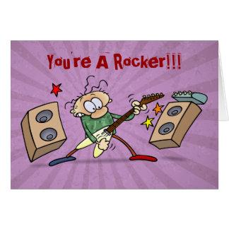 Rocker Card