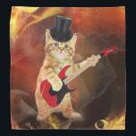 "rocker cat in flames bandana<br><div class=""desc"">cat , pussy , rocker , feline , &quot;cat guitar&quot; , &quot;rocker cat &quot;, &quot;flame cat&quot; , pet , kitten , &quot;cute cat&quot; , orange , cats , puppy , guitar , funny , cute , kitty , &quot;funny cat&quot; , meow , &quot;cat meme &quot;, adorable , lolcats , &quot;kitty...</div>"