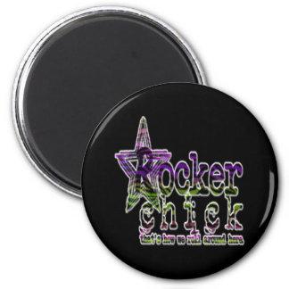Rocker Chick - Magnet
