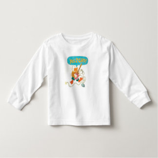 "rocker duck sings ""YES I CAN!"" Toddler T-shirt"