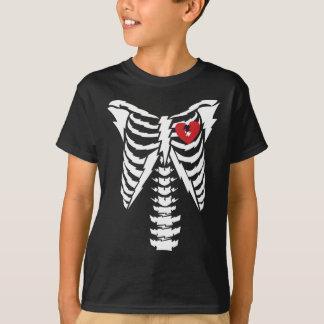 "Rocker electrifying ""rib cage"" funny Halloween T-Shirt"