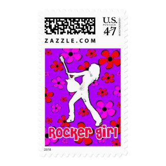 Rocker Girl Postage