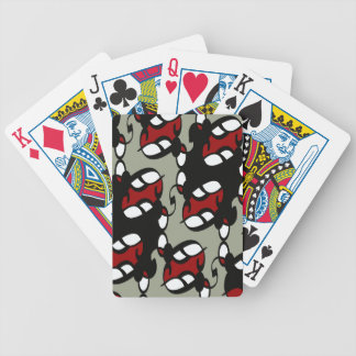 Rocker Gothic Lace Bicycle Playing Cards