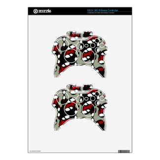 Rocker Gothic Lace Xbox 360 Controller Skin