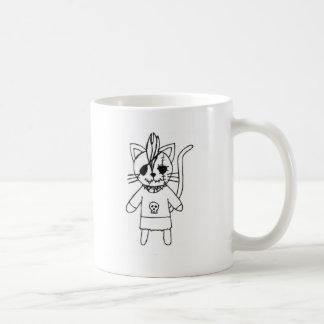 Rocker kitty coffee mug