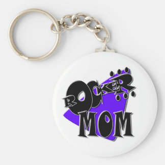 Rocker Mom! Keychain