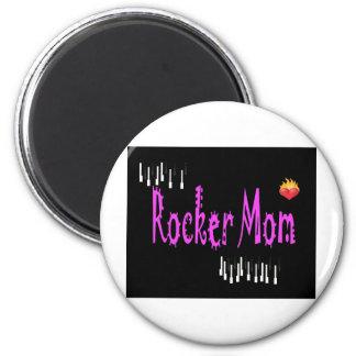 Rocker Mom Magnet