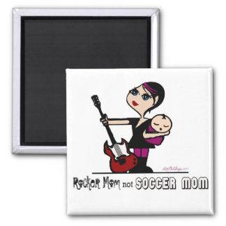 Rocker Mom, Not Soccer Mom Magnet