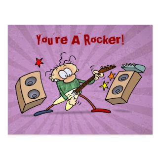 Rocker Postcard