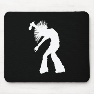 Rocker Silhouette Mouse Pad