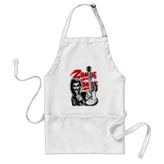 Rocker skull adult apron