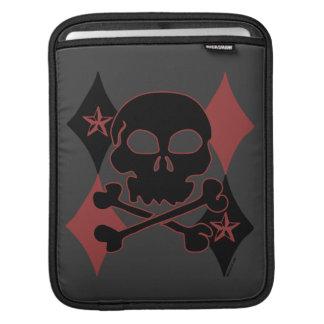 Rocker Skull iPad Sleeves