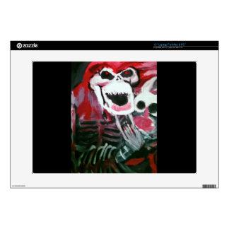 Rocker Skull Laptop Skins