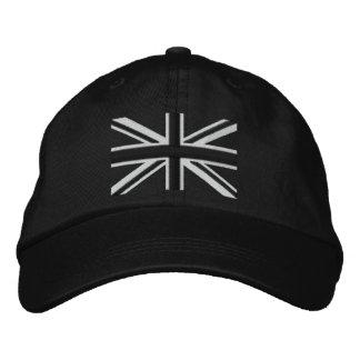 Rocker Union Jack Flag England Swag Embroidery Baseball Cap