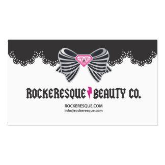 ROCKERESQUE CARD BUSINESS CARD TEMPLATE