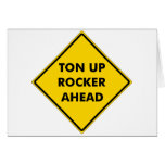 Rockers Caution Sign Card